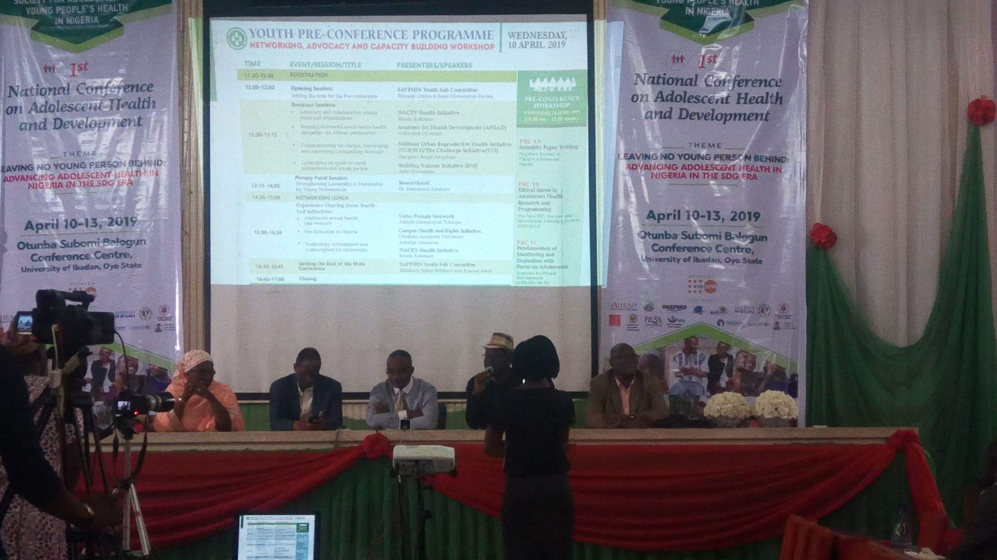 IYJ | Nigeria's First National Conference on Adolescent